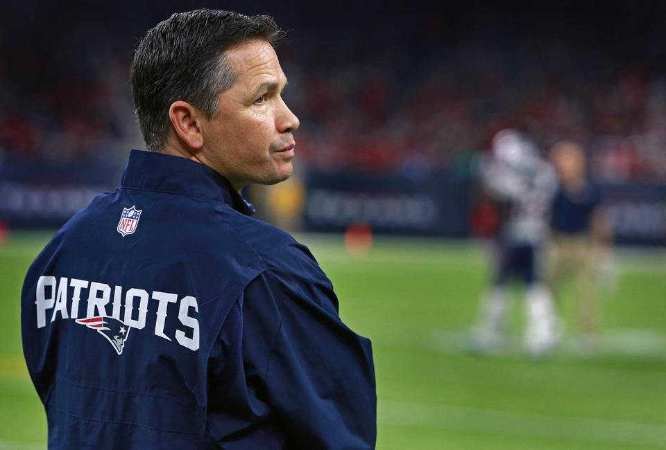 Alex Guerrero was on the sidelines last week at Houston's NRG Stadium, before the Patriots played the Texans.